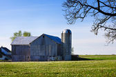 Amish barn — Stockfoto