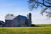 Amish schuur — Stockfoto