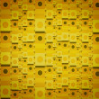 Yellow Line Pattern Background - 图库照片