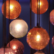 Orange Decorations - Foto Stock