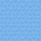 Blue heart seamless pattern — 图库照片