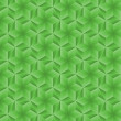 Seamless Geometric Green Pattern — ストック写真