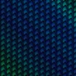 Blue Green Pattern Diagonal - Foto Stock