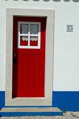 Red door — Stock Photo