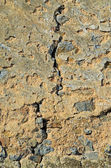 Mur fissuré — Photo