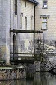 Zugbrücke — Stockfoto
