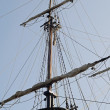 Boat mast — Stock Photo #9766216