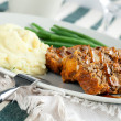 Lentil Loaf Dinner — Stock Photo #10045246