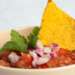 Fresh Salsa — Stock Photo