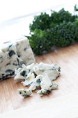 Tempting Blue Cheese — Stock Photo