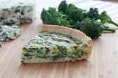 Slice of Quiche — Stock Photo