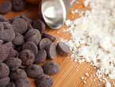 Cookie Ingredients — Stock Photo