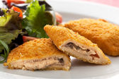 Vegetarian Cordon Blue — Stock Photo