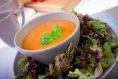 Creamy Tomato Soup — Stock Photo