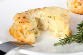 Potato and Cheese Souffle — Stock Photo