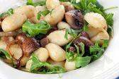 Gnocchi Mushroom Meal — Stock Photo