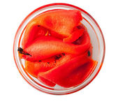 Roasted Red Peppers — Stock Photo