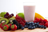 Fruit and Smoothie — Stock Photo