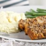Lentil Loaf Dinner — Stock Photo #8300383