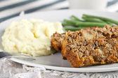 Lentil Loaf Dinner — Stock Photo
