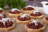 Sundried Tomato Tapenade — Stock Photo