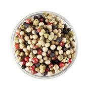 Mixed Peppercorns Isolated — Stock Photo
