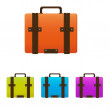 Stock Vector: Icon Portfolio. Vector illustration.