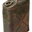 Old jerrycan — Stock Photo