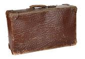 古物の黒いスーツケース — ストック写真