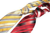 Two men's tie — Stock Photo