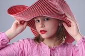 Ragazza alla moda. — Foto Stock