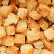 Stock Photo: Crouton close up.