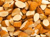 Gehackten mandeln — Stockfoto