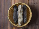 Dried sea cucumbers — Stock Photo