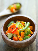 Indian vegetable medley — Stock Photo