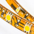 Strips with 3-chip and 1-chips SMD LEDs — Stock fotografie