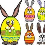 Постер, плакат: Easter eggs
