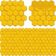 Honeycomb background - Stockvektor