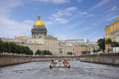 View of St. Isaac's Cathedral — Stock Photo
