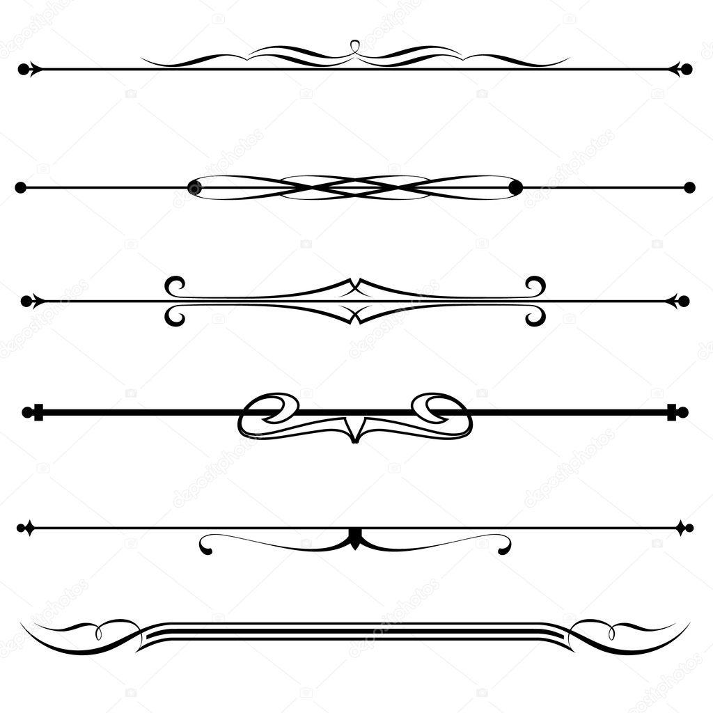 Decorative Line Clip Art Victorian Line Divider Clipart Decorative Line Dividers Pets World