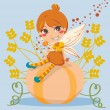 Pumpkin Fairy — Stock Vector #10033201