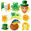 Saint Patrick Elements — Stock Vector