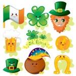 Saint Patrick Elements — Stock Vector