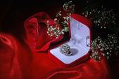 Diamond ring — Foto de Stock