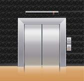 Passenger Elevator — Stock Vector