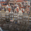 Stock Photo: Gdansk, Poland. Tile roofs of Old city