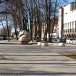 The boulevard in Klaipeda, Lithuania — Stock Photo