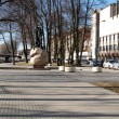 The boulevard in Klaipeda, Lithuania — Foto de Stock