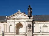 Lithuania. The Klaipeda drama theater on Theatre Square — Stock Photo