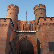 Kaliningrad,  Fridrihsburgsky gate, the bottom view — Stock Photo